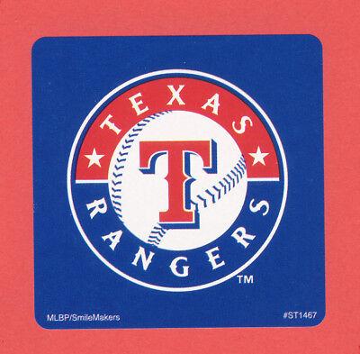15 Texas Rangers Logo - Large Stickers - Major League - Texas Rangers Party Supplies