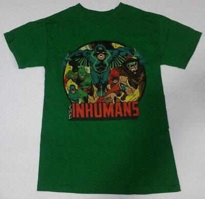 Adult Ringer - Inhumans Gang Marvel Comics Adult Ringer Shirt S M L XL