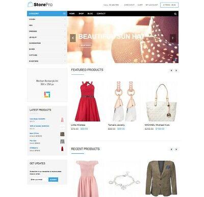 Storepro - Fully Featured Ecommerce Wordpress Website Amazon Affiliate