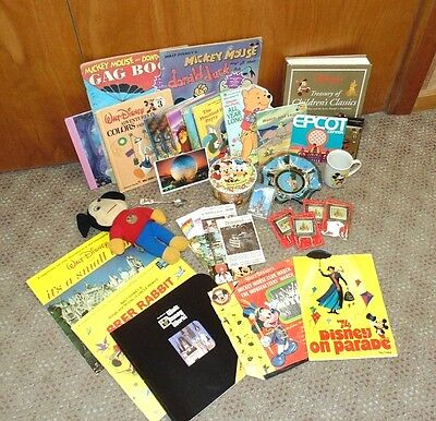 Lot of Vintage Mickey Mouse/Disney Merchandise 36 Items - Mickey Mouse Items