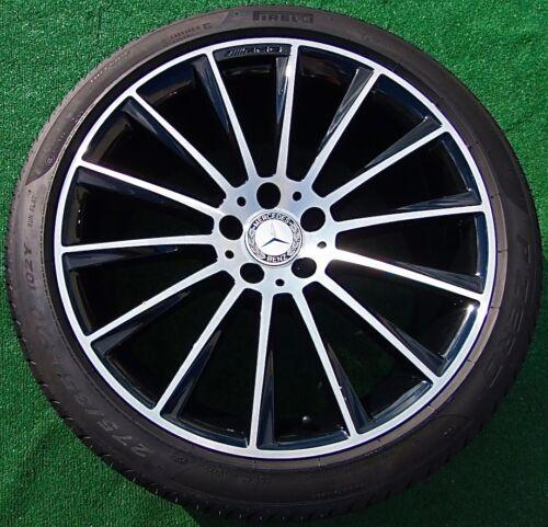 Set 4 New Black Genuine Oem Factory Mercedes Benz S550 Sport Amg 20 Wheels Tires