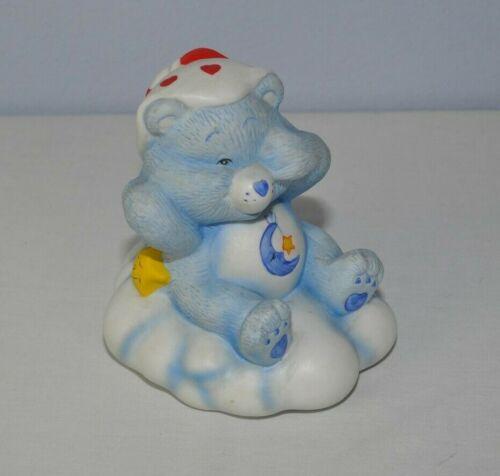 Vintage Care Bears 1983 Bedtime Bear Lamp Porcelain Nursery Baby BASE ONLY