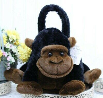 Easter DAN DEE MONKEY or PUPPY Plush Basket  NEW Age 3+ L67 P2 (Puppy Monkey)