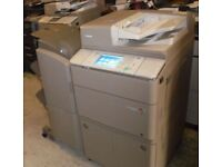 Canon Imagerunner Advance 6255i & Finisher black and white 55cpm photcopier