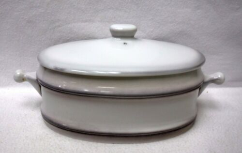 GOEBEL china LORRAINE pattern Large 2-Quart Oval Covered Casserole 15""