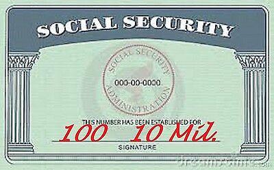 100 Pk Security Card Laminating Pouches Laminator Sheets 2-58 X 3-78 10 Mil