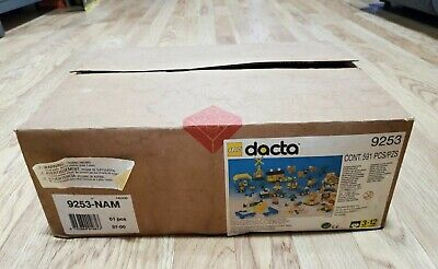 Vintage rare Lego Dacta 9253 sealed packages