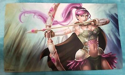 Bow & Arrow Anime Card game Play mat, Game Mat.Mouse pad(23 3/4 X 13 3/4 inches) - Game Bow Arrow