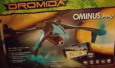 Dromida Ominus FPV UAV Quadcopter Drone RTF + HD Camera, NEW Grren for sale  Middle Village