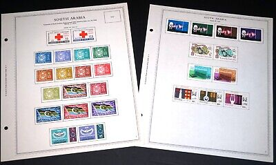South Arabia Country Collection Mint #1-29 1963-1966