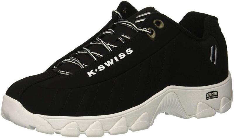 Extra Wide Men K-Swiss Training 03426-129-M CMF White Black 100/% Original New