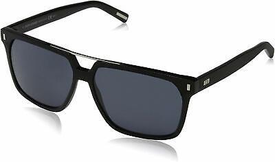 Dior Homme Black Tie BLACKTIE134S-807-BN Men's 58 Grey Lens (Dior Homme Sunglasses)