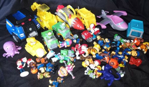 PAW PATROL Cartoon Series Toy Action Figures Lot Collection