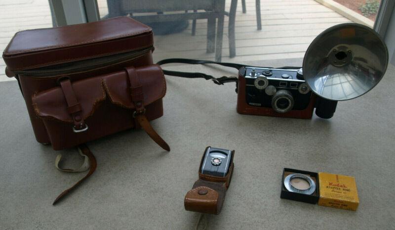 "Argus 1949 C-3 ""The Brick"" 35mm Camera 50mm Cintar Lens"