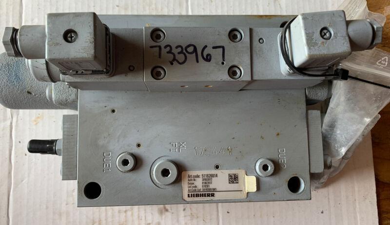 Liebher Valve Hydraulic Control, Part Number 511626014