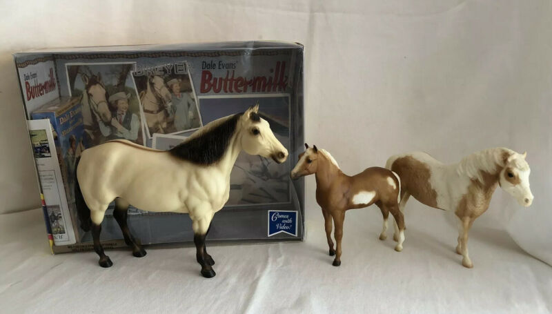 3 Breyer Horses Lot Dale Evans Buttermilk Misty of Cincoteague  Stormy LotB