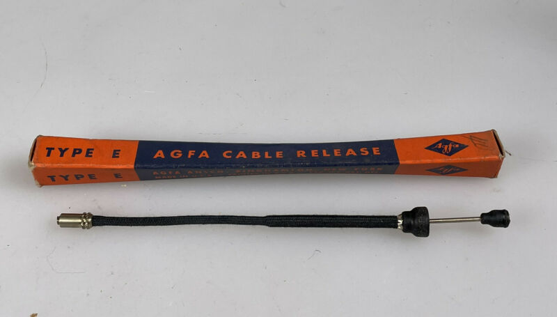 agfa cable release shutter cable NOS in the original box type E