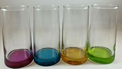 Libbey Colorful Cabos Glasses Set Of Four