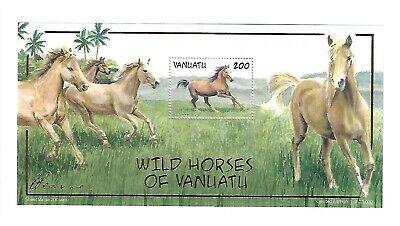 Vanuatu - 803a - SS - MNH - Horses - 2021-464