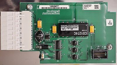Allen Bradley Powerflex 700 Pn. 319284-a01 Encoder Board With Conformal Coating