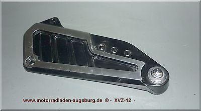 Yamaha XVZ-12 1200 Fuß Rasten Platte Träger Halter links Fußraste