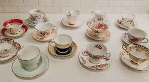 Looking for vintage tea cups