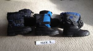 Kids Size 8 Winter Boots