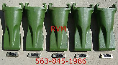 Bucket Teeth X5 V17syl Vertilok-style Superv 5-pack No Flex Pins Esco