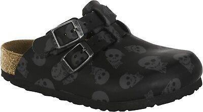 Birkenstock Kay Kids Mystic Skulls Royal Blue & Black Größe 26 Fußbett schmal ()