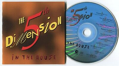[BEE GEES COVER] 5TH DIMENSION ~ IN THE HOUSE ~ 1995 US 10-TRACK CD ALBUM