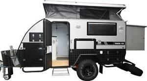 *NEW* Jawa TRAX-12 Silver Series Off-road Hybrid Caravan Bunk Bed