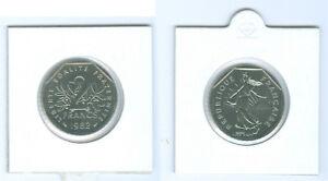 FRANCIA-2-francos-sin-circulacion-de-KMS-Seleccione-entre-1979-2001