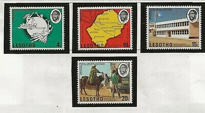 LESOTHO Sc 166-9 NH issue of 1974 - UPU