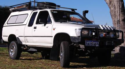 ABSOLUTE BARGAIN !! OVER 40K SPENT !! SERIOUS OFFROAD HILUX Canning Vale Canning Area Preview