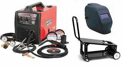 Lincoln Electric K2697-1hc Easymig 140 Welder With Adf Helmet And Cart