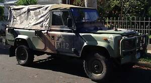 1991 Ex Military Land Rover Perentie 110 3.9L FFR Northcote Darebin Area Preview