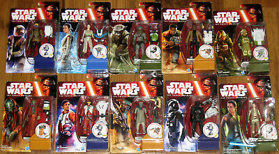 Disney Hasbro® Star Wars® Episode 7 The Force Awakens Figuren B3451 B3967 B3968