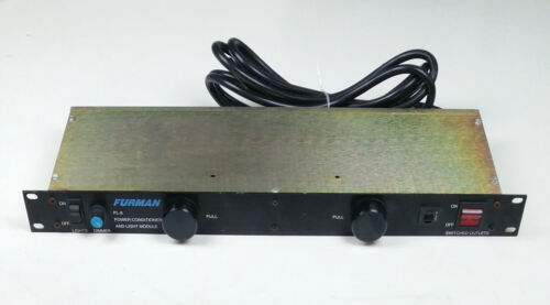 Furman PL-8 8 Outlet Power Conditioner & Light Module Rack Mount