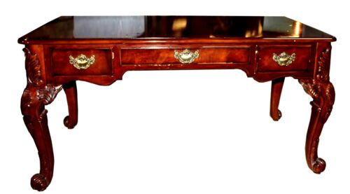 Mahogany Chippendale Style Broyhill Desk