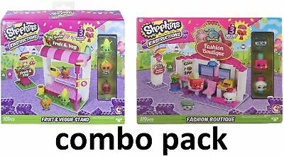 ons Shopping Pack Fruit And Veg Stand + Fashion Boutique (Shopkins Shopping)