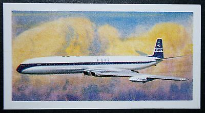 BOAC  COMET 4     Superb Original 1960's Vintage Card  ## VGC