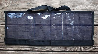 CUSTOM OFFSHORE TACKLE 3 Pocket Daisy Chain Tackle Lure Bag 20 x 8 - Black