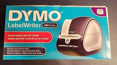 Dymo Labelwriter 450 - Blacksilver - In Box. Open Box