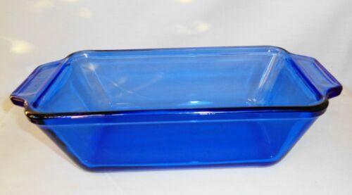 Anchor Hocking Cobalt Blue Loaf Pan 1.5 Qt.
