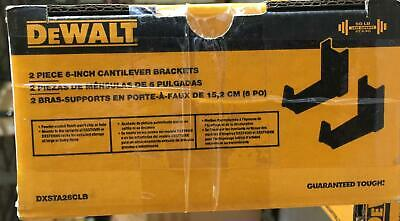 Dewalt 6 In. Hanger Cantilever Bracket Set For Dewalt Industrial Storage Racks