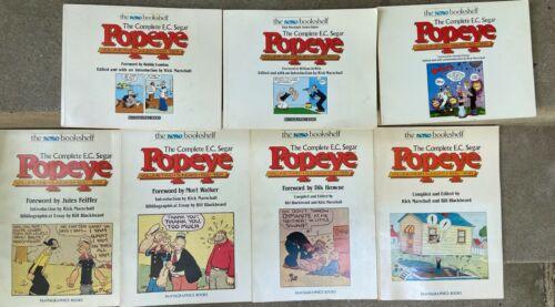 Fantagraphics - The Complete E C Segar Popeye Sundays Volume 1-7