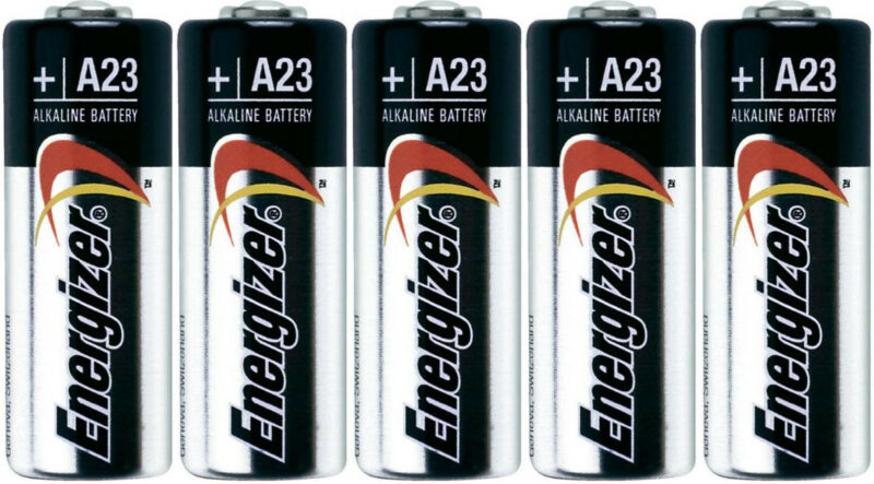ENERGIZER A23 23A 21/23 MN21 12v BATTERY 5 Pk Bulk