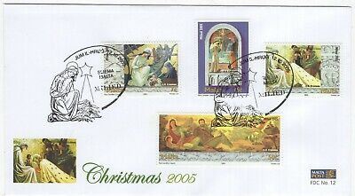 MALTA  2005  Christmas   Unaddressed First Day Cover  Ref:3519