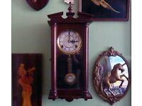 Vintage Highlands Grandfather Wall Clock