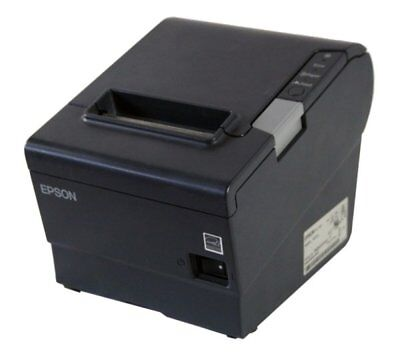 BONDRUCKER EPSON TM-T88V USB, RS232 (SERIELL), FARBE: SCHWARZ, CUTTER, 80MM